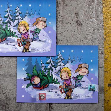 Joulukalenteri A3
