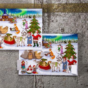 Joulukalenteri A4